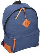 RUCKSACK - Blau, Basics, Textil (33/14/43cm)