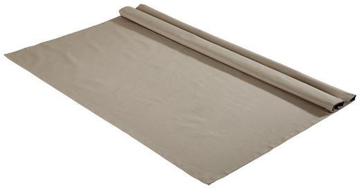 TISCHDECKE Textil Webstoff Silberfarben 100/100 cm - Silberfarben, Basics, Textil (100/100cm) - Bio:Vio