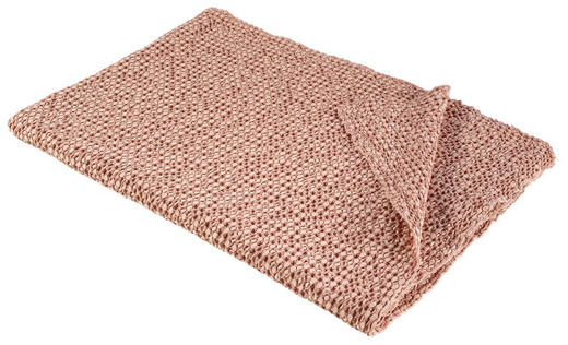 WOHNDECKE 140/200 cm Altrosa - Altrosa, Design, Textil (140/200cm) - David Fussenegger