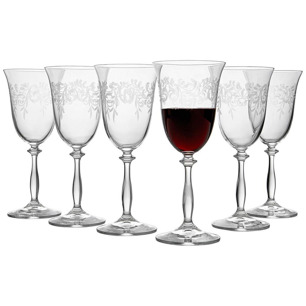 Novel Rotweinglas-set 6-teilig