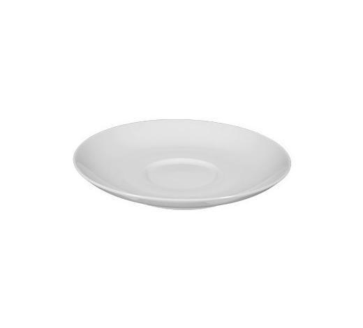 TANJURIĆ ZA ŠALICU - bijela, Basics, keramika (16cm) - Seltmann Weiden