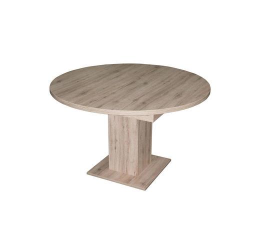 ESSTISCH in Holzwerkstoff  104-144/76 cm - Eichefarben, Design, Holzwerkstoff (104-144/76cm) - Carryhome
