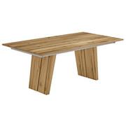 ESSTISCH Eiche furniert rechteckig Eichefarben  - Eichefarben, Design, Holz (190/100/75cm) - Venjakob