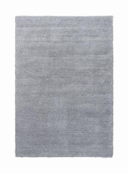 HOCHFLORTEPPICH  140/200 cm  gewebt  Silberfarben - Silberfarben, Basics, Kunststoff/Textil (140/200cm) - Novel