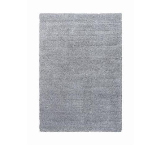 HOCHFLORTEPPICH  90/160 cm  gewebt  Silberfarben   - Silberfarben, Basics, Kunststoff/Textil (90/160cm) - Novel