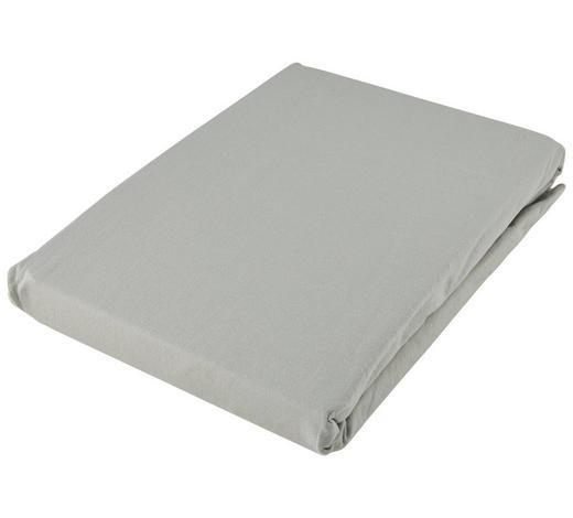 SPANNLEINTUCH 180/200 cm - Zinkfarben, Basics, Textil (180/200cm) - Fussenegger