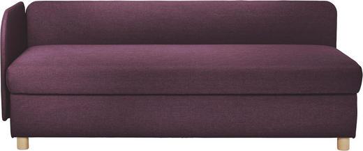 LIEGE in Textil Beere - Beere/Buchefarben, Design, Holz/Textil (206/80/94cm) - Joka