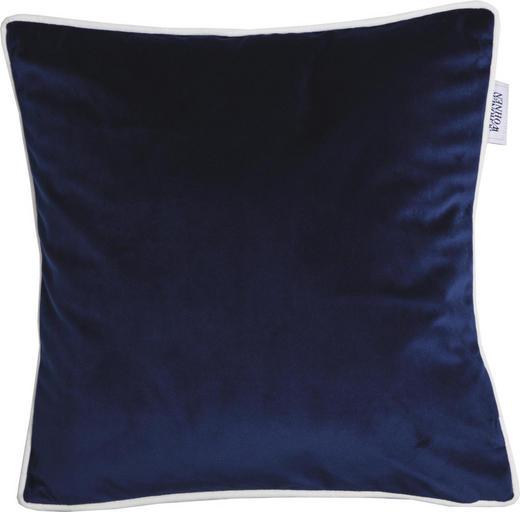 KISSENHÜLLE Blau, Creme 38/38 cm - Blau/Creme, Textil (38/38cm) - Schöner Wohnen