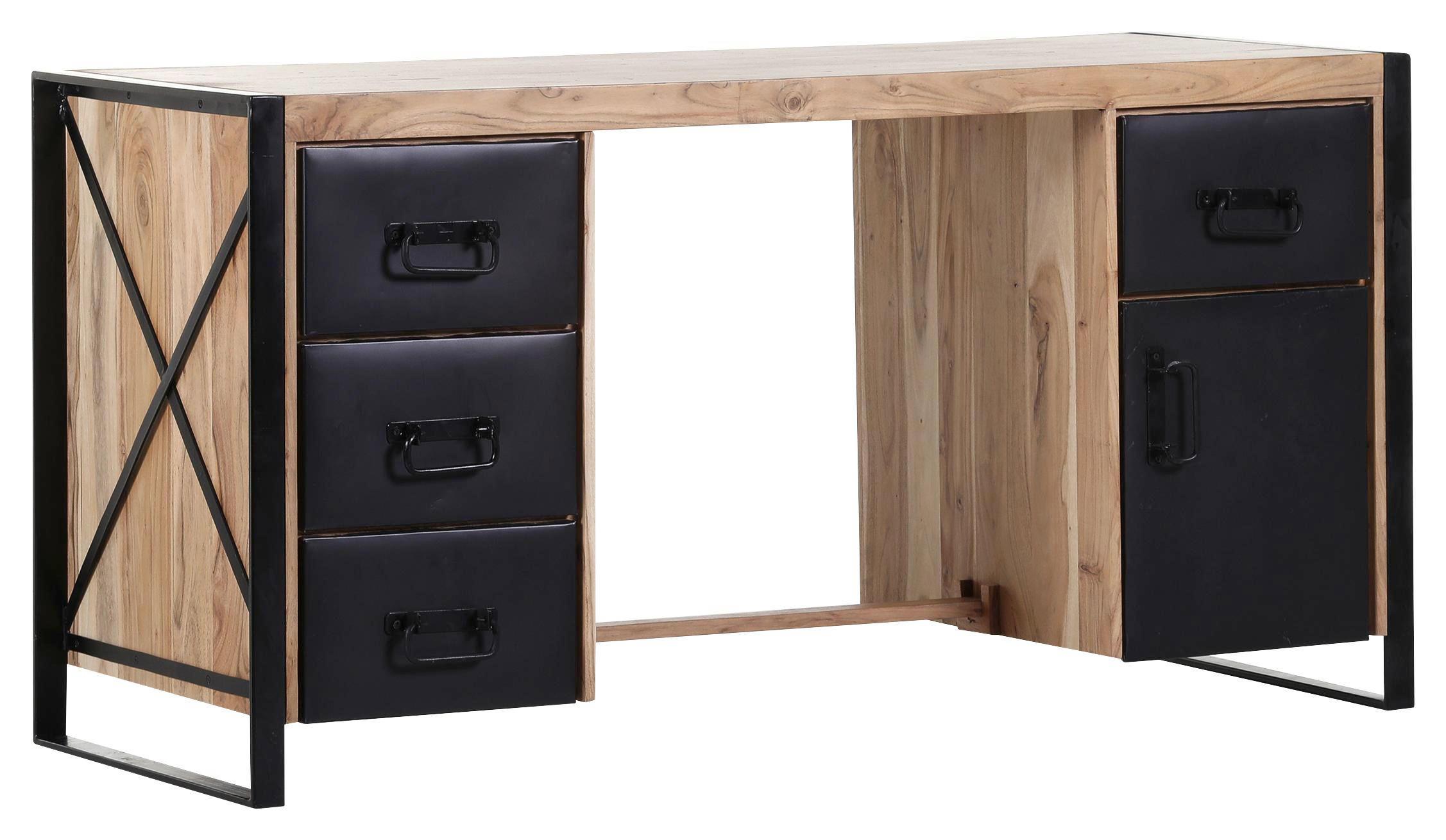 Schreibtisch holz modern  SCHREIBTISCH Akazie massiv Naturfarben online kaufen ➤ XXXLShop