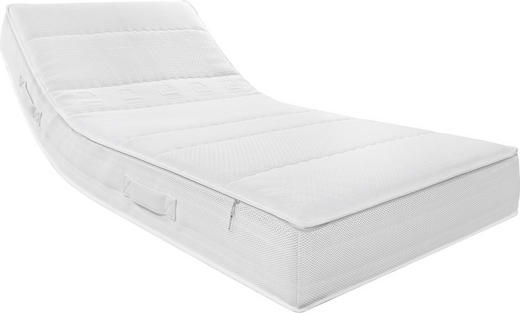 KALTSCHAUMMATRATZE 90/200 cm - Weiß, Basics, Textil (90/200cm) - Musterring