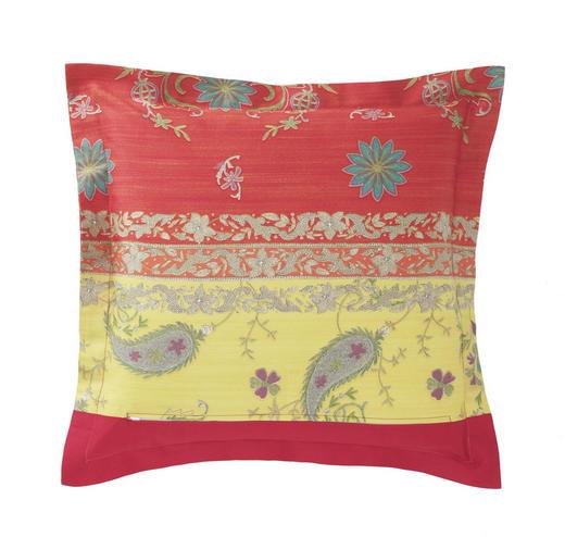 KISSENHÜLLE Gelb, Rot - Gelb/Rot, LIFESTYLE, Textil (40/40cm) - Bassetti