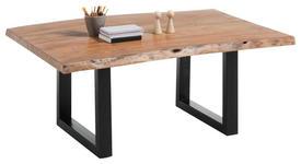 COUCHTISCH in Holz, Metall 110/70/45 cm   - Anthrazit/Schwarz, MODERN, Holz/Metall (110/70/45cm) - Hom`in