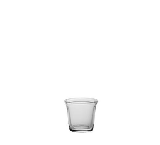 TEELICHTGLAS - Klar, Basics, Glas (7/6,5cm) - Ambia Home