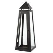 LATERNE - Schwarz, Design, Metall (25/70/25cm) - Ambia Home