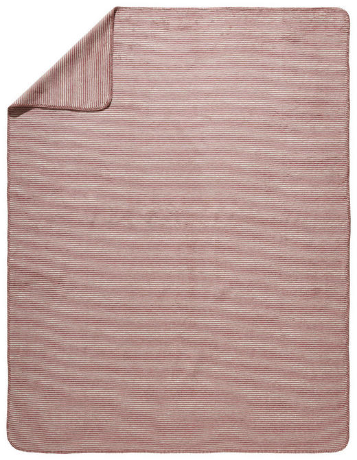 WOHNDECKE 150/200 cm Braun, Silberfarben - Silberfarben/Braun, Basics, Textil (150/200cm) - Novel