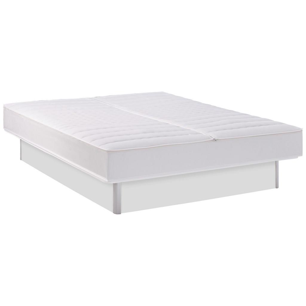 Novel Wasserbett inkl. Montage 200/200 cm, Weiß | Schlafzimmer > Betten > Wasserbetten | Textil | Novel