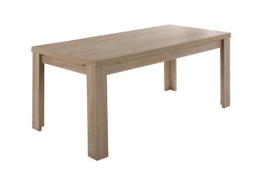 ESSTISCH rechteckig Eichefarben - Eichefarben, Design (160-216/80/78cm) - Carryhome