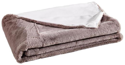 DECKE 140/160 cm Grau - Grau, Design, Textil (140/160cm)