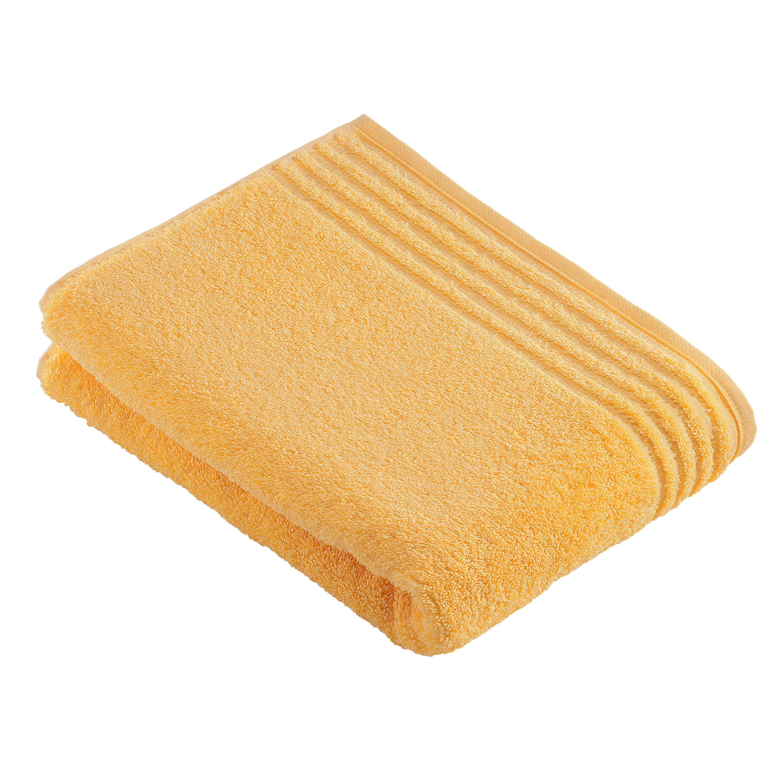 BADETUCH 80/160 cm - Honig, Basics, Textil (80/160cm) - VOSSEN