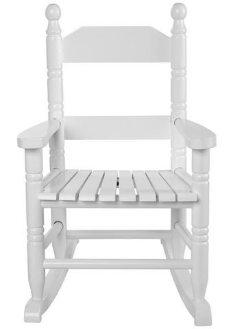 Kinder-schaukelstuhl - Weiß, Basics, Holz (36,5/46,5cm) - My Baby Lou