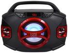 DJ-BOOMBOX 44 BT - Rot/Schwarz, KONVENTIONELL, Kunststoff