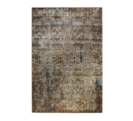 VINTAGE-TEPPICH  240/290 cm  Blau, Sandfarben, Beige   - Sandfarben/Blau, Textil (240/290cm) - Novel