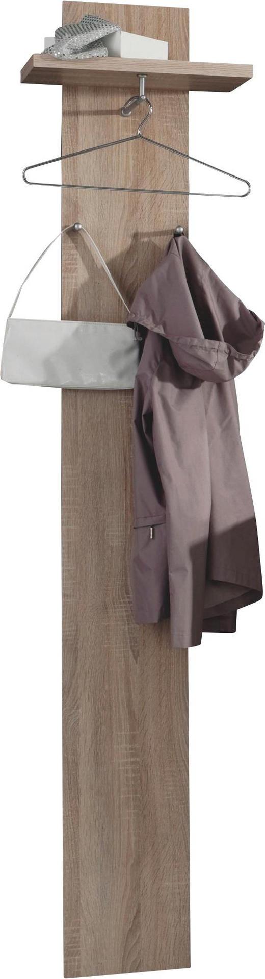 GARDEROBENPANEEL Eichefarben - Eichefarben, Design (40/188/26cm) - Carryhome