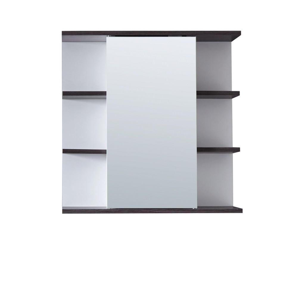 Livetastic Spiegelschrank grau