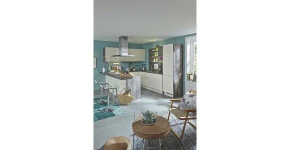 Einbauküche Panama individuell planbar - Weiß, MODERN, Holzwerkstoff - Vertico
