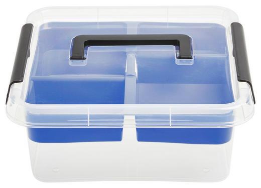 BOX MIT DECKEL 30/30/11,1 cm - Transparent, Basics, Kunststoff (30/30/11,1cm) - Plast 1