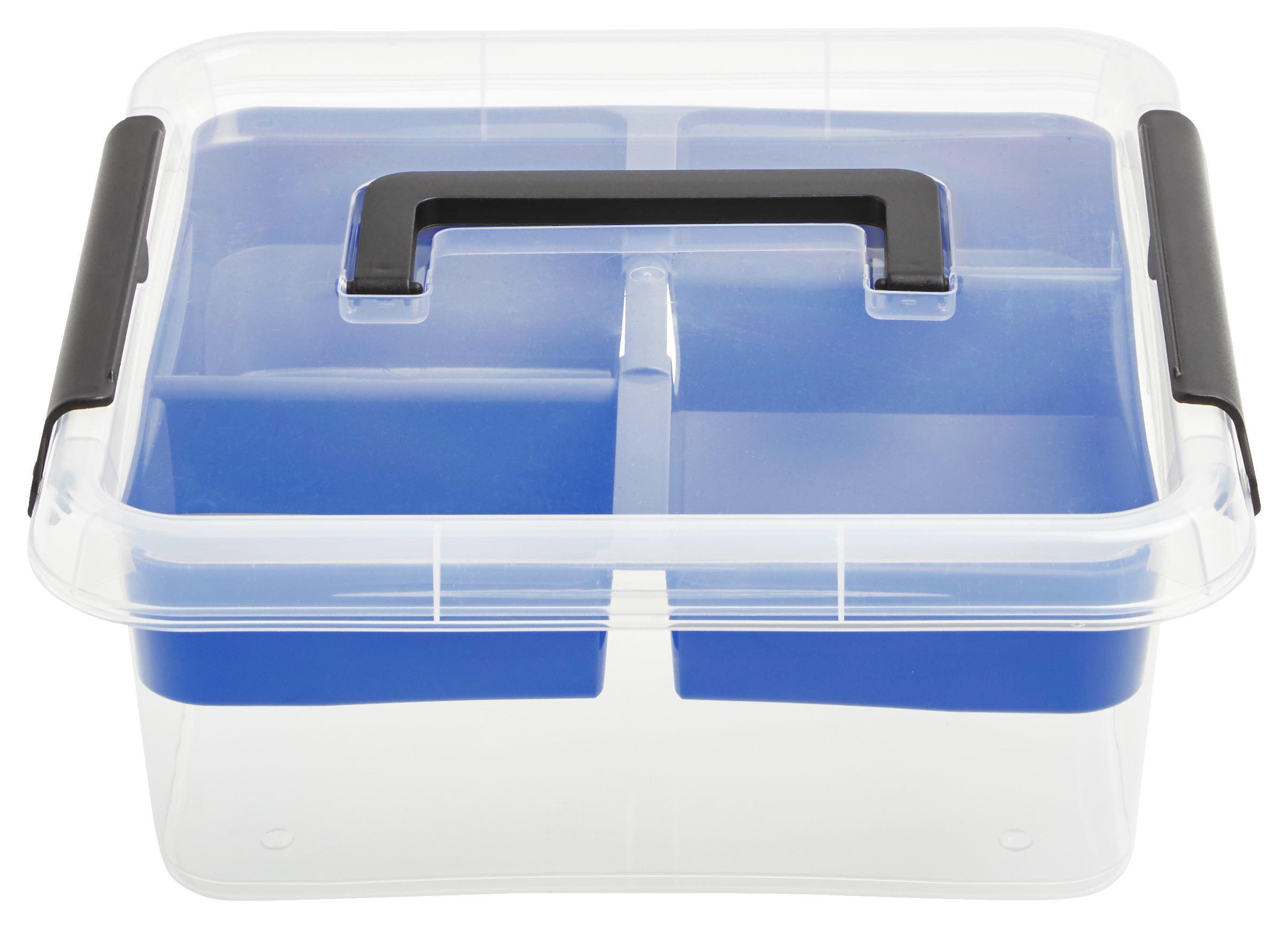 BOX S VÍKEM - průhledná, umělá hmota (6,0l)