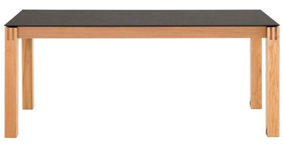 ESSTISCH in Holz, Kunststoff 160(260)/100/76 cm   - Eichefarben/Graphitfarben, Design, Holz/Kunststoff (160(260)/100/76cm) - Dieter Knoll