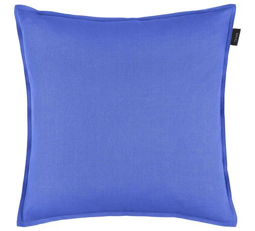 KISSENHÜLLE - Blau, Basics, Textil (50/50cm) - Novel
