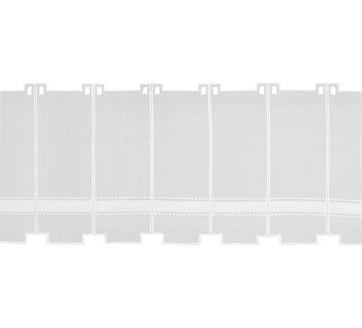 KURZGARDINE 90 cm - Weiß, KONVENTIONELL, Textil (90cm) - Esposa