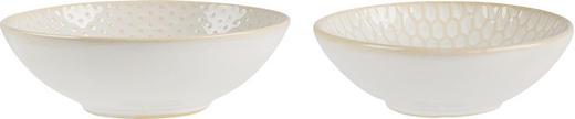MÜSLISCHALENSET - Goldfarben/Weiß, LIFESTYLE, Keramik (11/3,5cm) - ASA