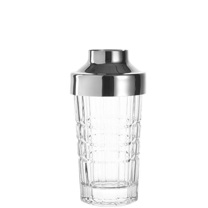 COCKTAIL-SHAKER 200 l - Edelstahlfarben/Transparent, Basics, Glas/Metall (7,50/15,00cm) - LEONARDO