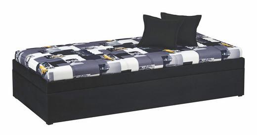 LIEGE Grau, Schwarz, Weiß - Schwarz/Weiß, Design, Textil (90/200cm) - Esposa