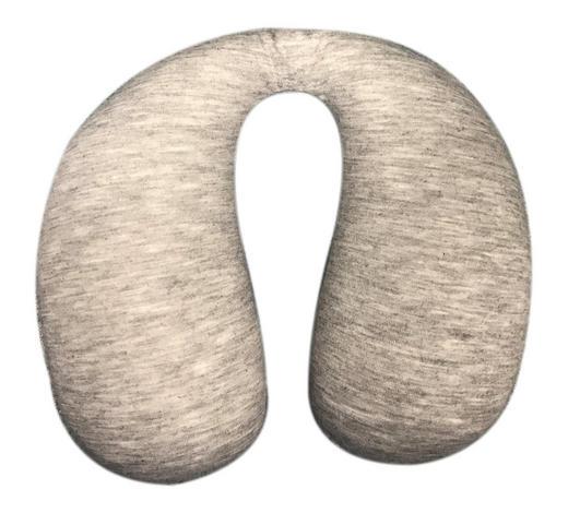KOJENECKÝ ŠÍJOVÝ POLŠTÁŘ - tmavě šedá, Basics, textil/umělá hmota (20/30cm) - My Baby Lou
