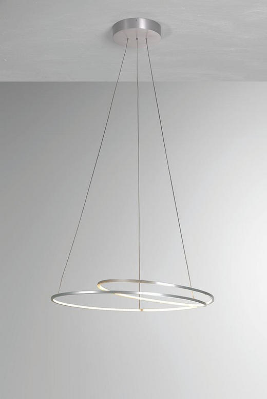 LED-HÄNGELEUCHTE - Design, Metall (70/140cm)