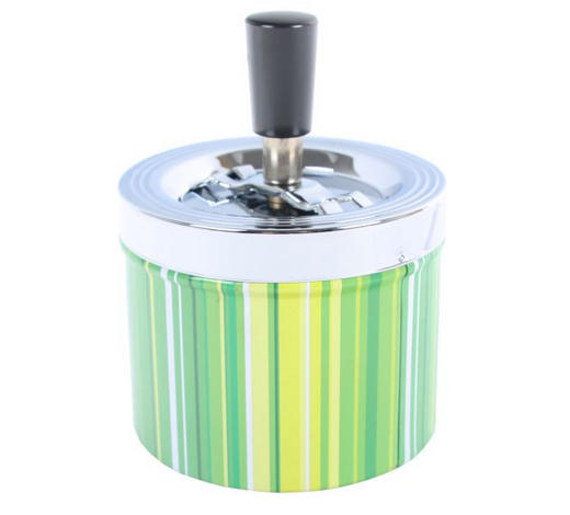 ASCHENBECHER - Blau/Pink, Basics, Kunststoff/Metall (9,3/13cm) - Boxxx