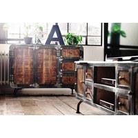 SIDEBOARD 120/85/40 cm  - Multicolor, Trend, Holz/Metall (120/85/40cm) - Landscape
