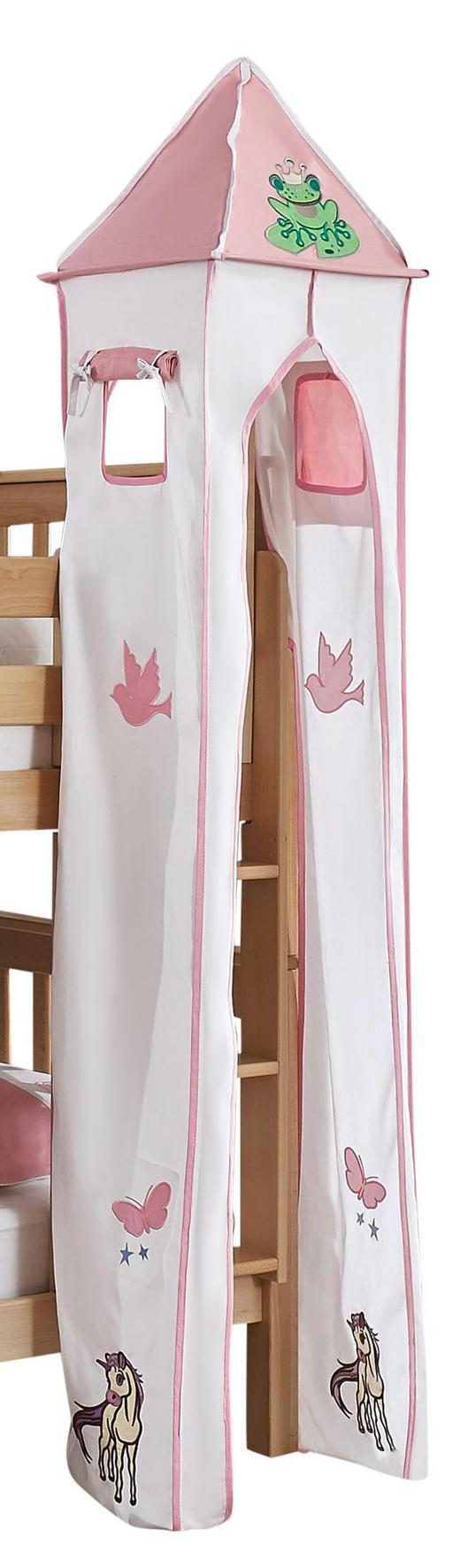 TURMSET Rosa, Weiß - Rosa/Weiß, Design, Textil (40/200/40cm)