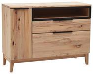 SIDEBOARD 150/90/47 cm - Anthrazit/Buchefarben, Natur, Holz/Metall (150/90/47cm) - Valnatura