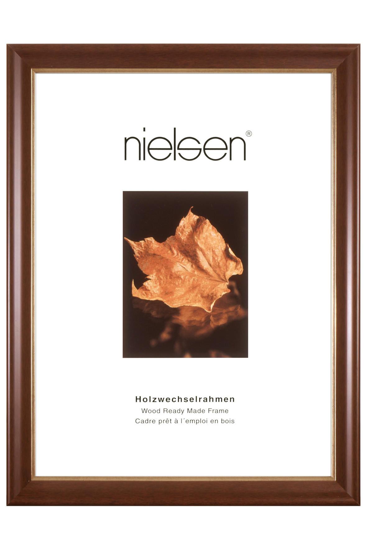BILDERRAHMEN  Dunkelbraun - Dunkelbraun, Holz (13/18cm)