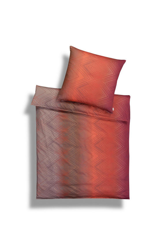 BETTWÄSCHE Flanell Dunkelrot - Dunkelrot, Basics, Textil (135/200cm) - Estella