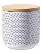 POSUDA ZA ZALIHE - bijela/smeđa, Lifestyle, drvo/keramika (10/11cm) - Landscape