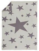 KINDERDECKE 130/180 cm Grau, Naturfarben - Naturfarben/Grau, Basics, Textil (130/180cm)