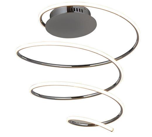 LED-DECKENLEUCHTE - Chromfarben, Design, Kunststoff/Metall (47/45/47cm)