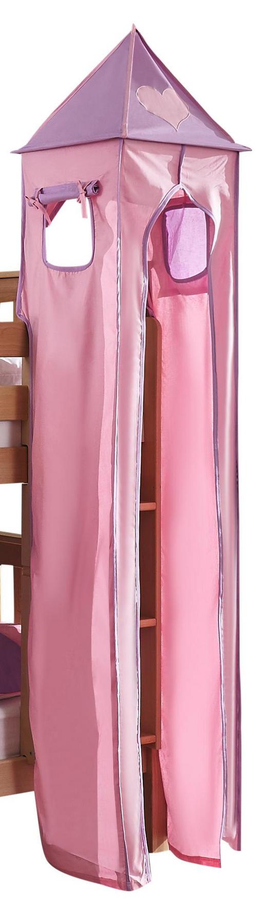 TURMSET Flieder, Rosa - Flieder/Rosa, Design, Textil (40/200/40cm)