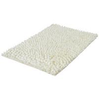 BADTEPPICH in Weiß 70/120 cm - Weiß, Basics, Kunststoff/Textil (70/120cm) - Kleine Wolke